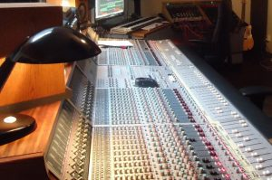 Main mixing room