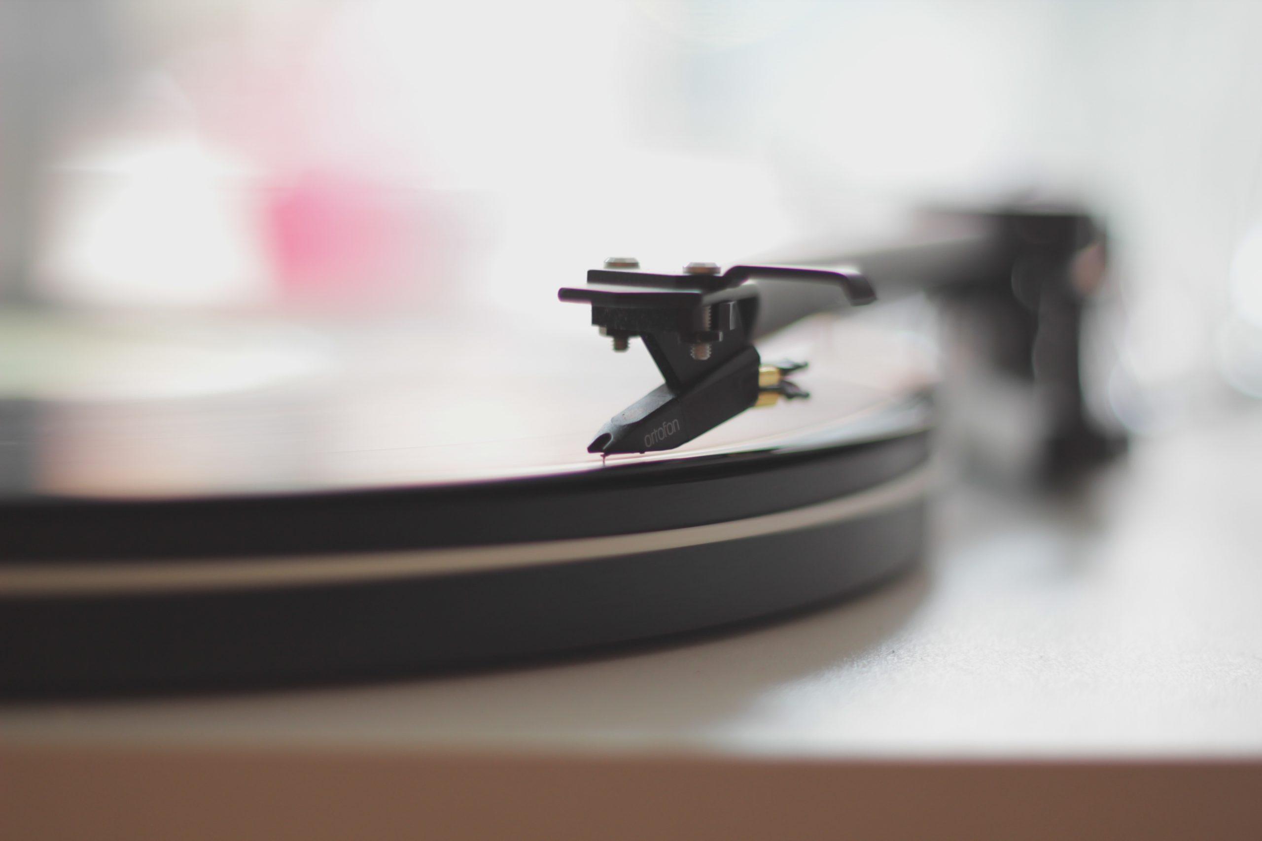 record music needle vinyl turntable photography